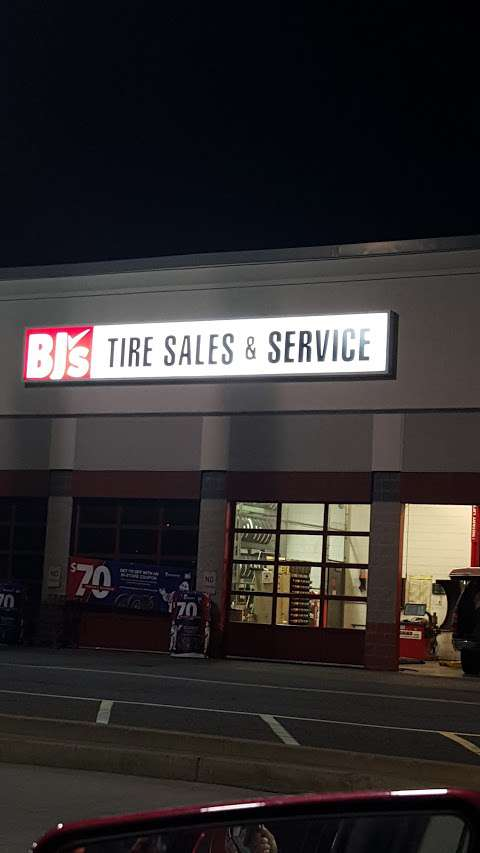 Bj S Wholesale Club Tire Center At 16520 Ballpark Road In Bowie